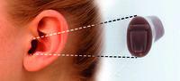 Im-Ohr-Hörgeräte sind auch in der Testphase kaum zu erkennen